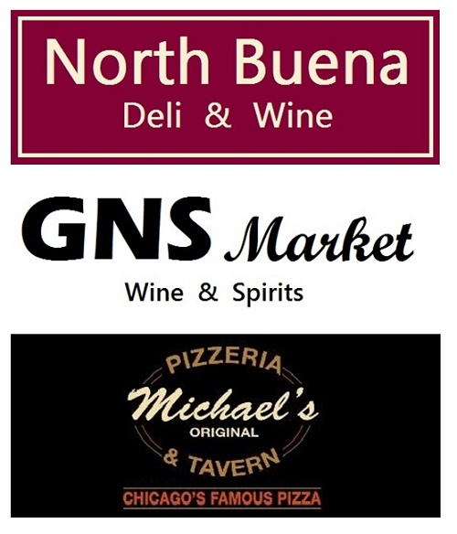 North Buena Deli & Wine, GNS Market, Michael's Pizzeria & Tavern